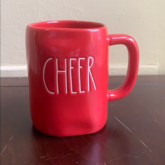 Rae Dunn Other - Red CHEER Rae Dunn Christmas Mug NWT